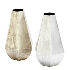 Metal Table Vase (Set of 2)