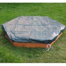 150 cm sechseckiger Sandkasten mit Schutzbezug