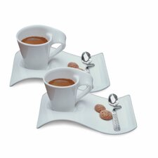 New Wave Caffe 6 Piece Espresso Set