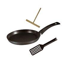Specialty 3 Piece Non-Stick Crepe Pan Set