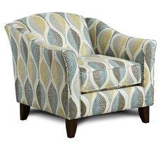 Fressia Leaves Armchair by Latitude Run