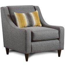 Kennon Fabric Armchair by Brayden Studio