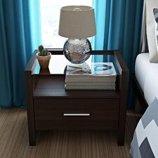 Gusman 1 Drawer Bedside Table