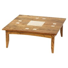 Travertine Coffee Table by William Sheppee