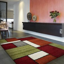 Ryan Green/Red/Brown Rug