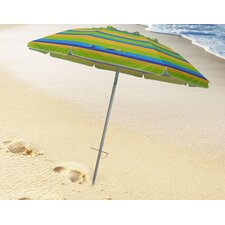 7' Tilt and Travel Bag Beach Umbrella