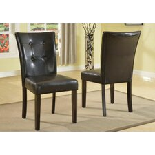 Modern Luxurious Upholstered Dining Chair (Set of 2) by Global Trading Unlimited