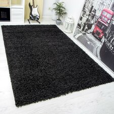Oxford Black Area Rug