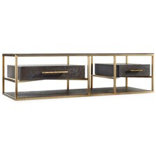 Curata Rectangle Coffee Table with Magazine Rack by Hooker Furniture
