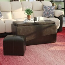 Clutton 3 Piece Coffee Table Set by Latitude Run