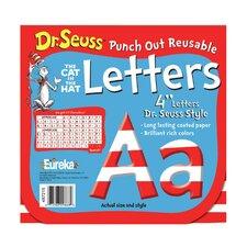 Dr Seuss 4 in Letters