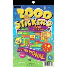 Motivational Book Sticker (Set of 2)