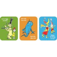 Dr Seuss Favorite Book Sticker (Set of 4)