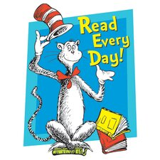 Cat in The Hat Read Every Day Poster (Set of 3)