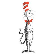 Giant Cat in The Hat Bulletin Board Cut Out