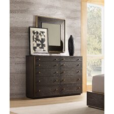 Curata 10 Drawer Dresser with Mirror by Hooker Furniture