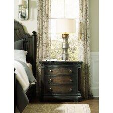 Auberose 3 Drawer Nightstand by Hooker Furniture