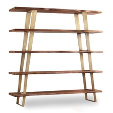 Transcend 68 Leaning Bookcase by Hooker Furniture