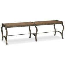 Hill Country Ozark Metal Bedroom Bench by Hooker Furniture