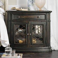 Auberose 2 Door 1 Drawer Nightstand by Hooker Furniture