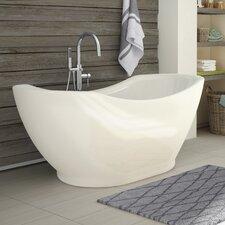 Salacia 67 x 28 Soaking Bathtub Kit by A&E Bath and Shower