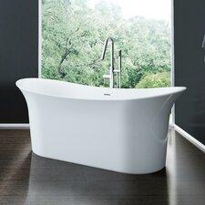 Cyclone 66 x 31.75 Freestanding Soaking Bathtub by A&E Bath and Shower