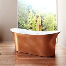 Cyclone 66 x 30 Freestanding Soaking Bathtub by A&E Bath and Shower