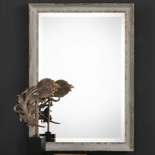 Rectangle Aged Framed Accent Mirror