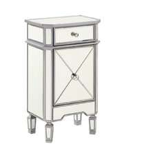 Chamberlan Decor Contemporary 1 Drawer Accent Cabinet