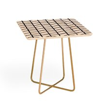 Wonder Forest Grid Lock End Table by East Urban Home