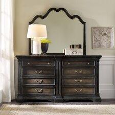 Auberose 8 Drawer Dresser with Mirror by Hooker Furniture