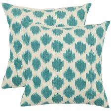 Jillian Cotton Throw Pillow (Set of 2)