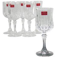 6-tlg. Weißweinglas Longchamp