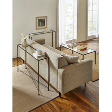 Diversey Glass Console Table by TFG