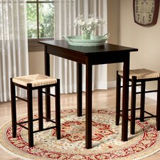 Tenney 3 Piece Counter Height Dining Set