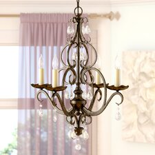Esse 4-Light Candle-Style Chandelier