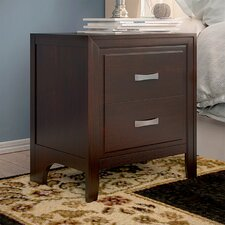 Simmons Casegoods Barwood 2 Drawer Nightstand by Alcott Hill