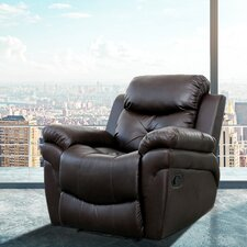 Beatrice Vibrating Faux Leather Heated Massage Chair
