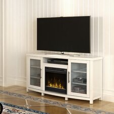 "Byas 54"" TV Stand with Electric Fireplace"