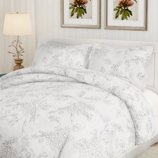 Jacob 3 Piece Duvet Cover Set