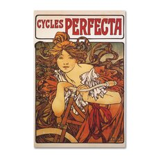 'Cycles Perfecta' Print on Wrapped Canvas