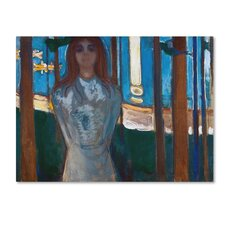 'The Voice Summer Night' by Edvard Munch Print on Wrapped Canvas