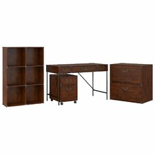 Ironworks Standard 4 Piece Desk Office Suite