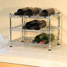 Wayfair Basics 12 Bottle Tabletop Wine Rack