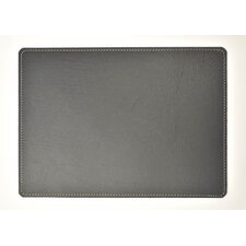 Echelon Recycled Leather Placemat (Set of 4)