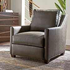 Zavala Venturi Leather Club Chair by Lexington