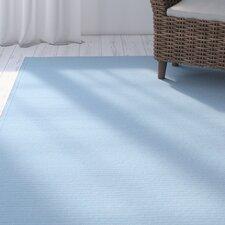 Rouillard Light Blue Indoor/Outdoor Area Rug