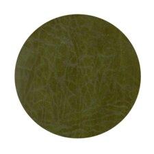 Echelon Buffalo Leather Emerald Coaster (Set of 4)