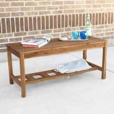 Ladder Base Patio Coffee Table