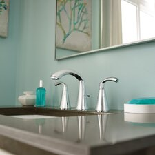 Glyde Standard Bathroom Faucet Double Handle